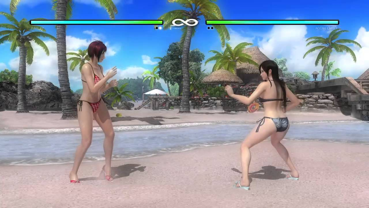 Image result for dead or alive 5 bikini fights