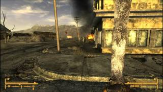 Fallout New Vegas That-a-Way to Novac and Booted