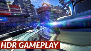 WipEout Omega Collection - HDR gameplay [PS4 Pro]