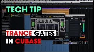 Tech Tip - Trance Gates in Cubase