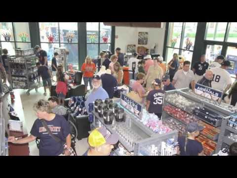 Official Detroit Tigers Merchandise at Comerica Park - Delaware North Companies