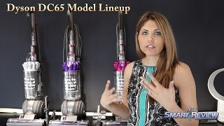Dyson 2014   Dyson DC65 Upright Vacuum Lineup and Comparison   Multi-Floor, Animal, Animal Complete