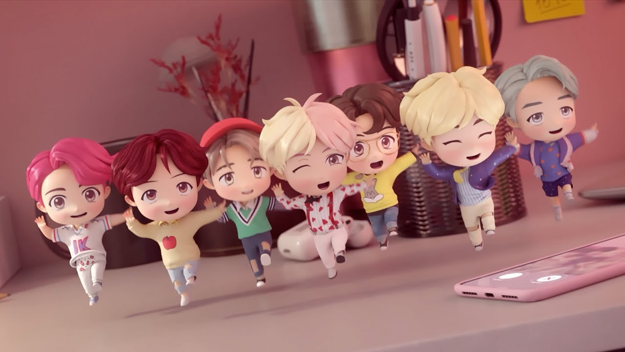 "BTS ë°©ƒ""소년단 Character Trailer The Cutest Boy Band In The World"