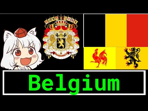 Everything Geography: Every Belgium Flag, Flanders, Brussels, Wallonia (Gone Wrong)