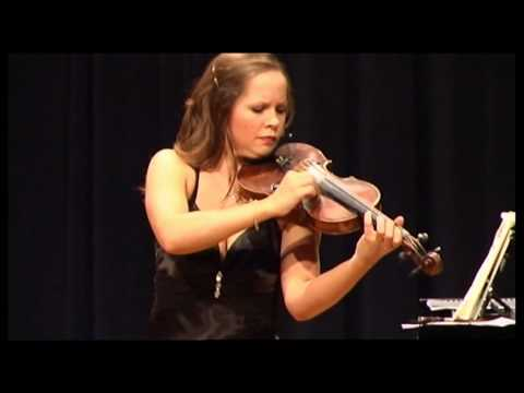 Hindemith Sonata for Violin solo - Sophie Moser