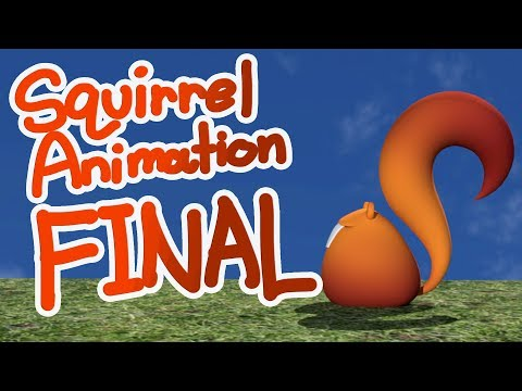 Squirrel Animation- FINAL ASSIGNMENT