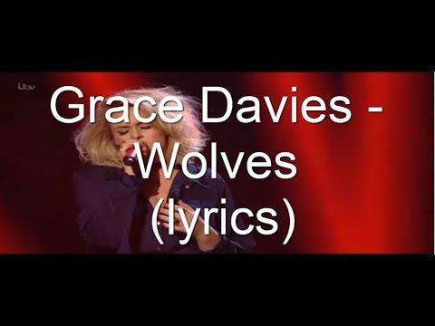 Grace Davies -  Wolves (lyrics)    The x factor uk