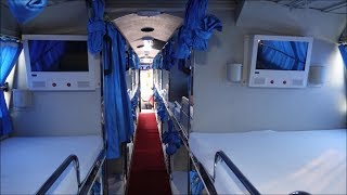 Download Video India's First 42 Sleeper Berths Super Premium Volvo B11R Bus- Stunning Interiors & Exteriors !!! MP3 3GP MP4