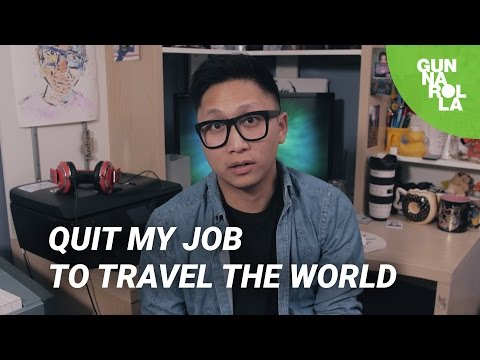 Quit my job to travel the world... now what?