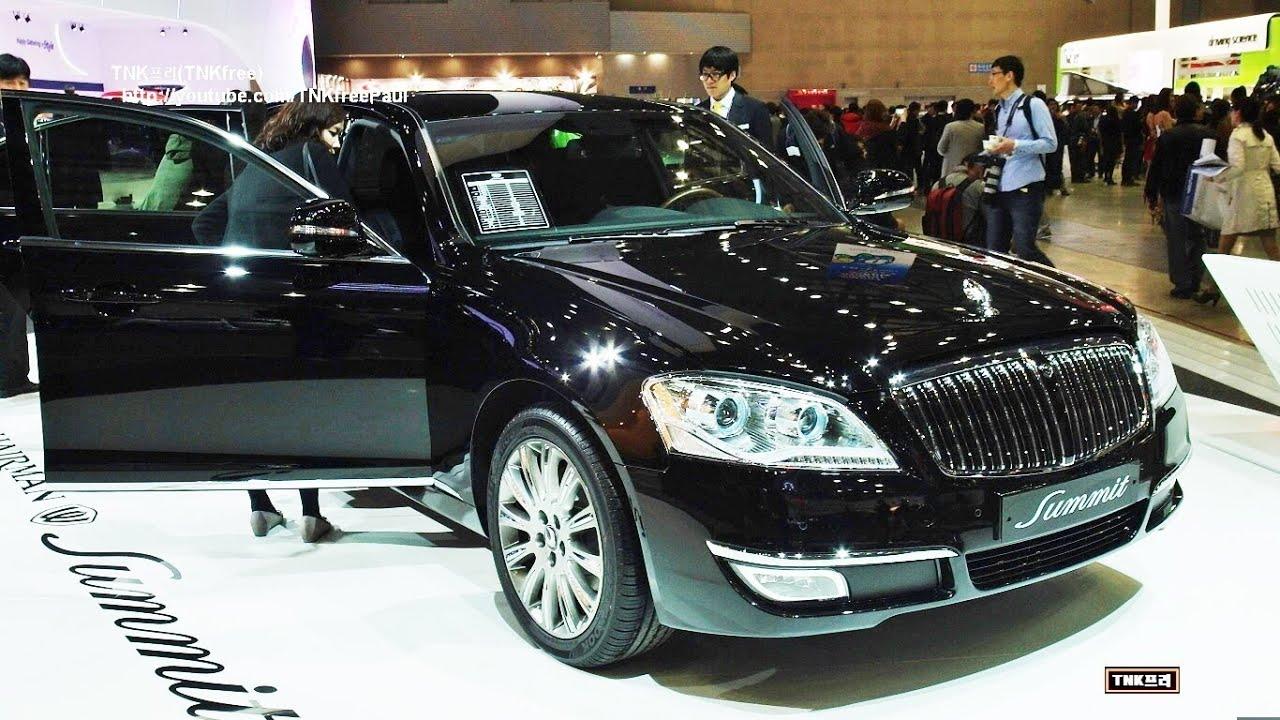 Ssangyong Chairman W Summit Luxury Sedan Youtube