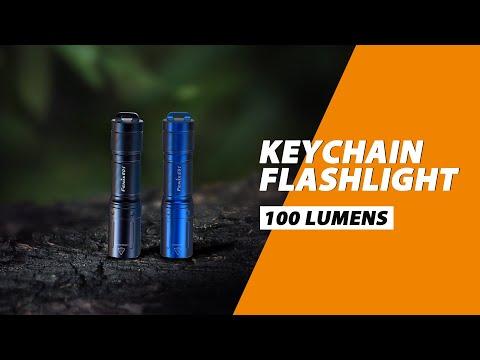 E01 V2.0 Keychain EDC Flashlight 100 Lumens