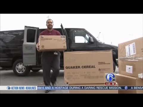 Mercy Home Health Colleagues Donate Cereal to Families in Need