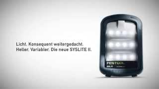 Festool - Die neue SYSLITE II
