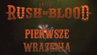 [ZAGRAJMY W] Until Dawn: Rush of Blood - pierwsze wrażenia /w PS VR & Cam