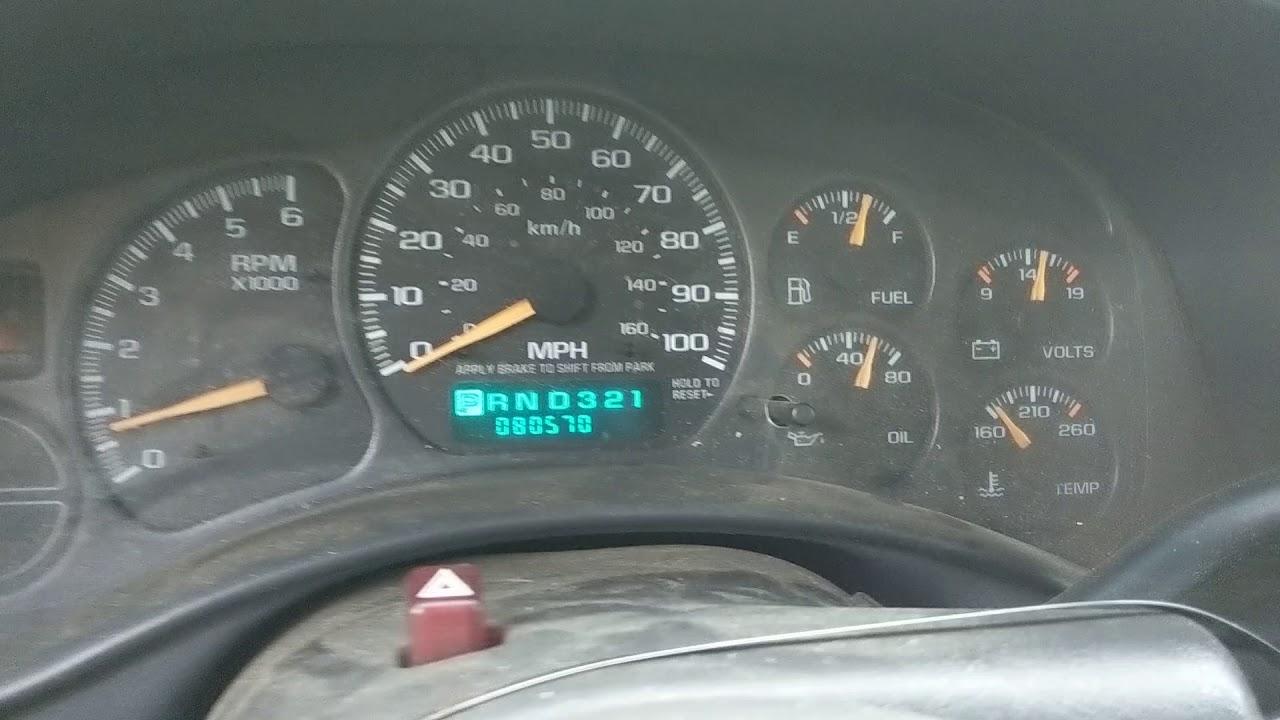 2002 Silverado 5 3 4L60E 2WD Liftout Package 81K