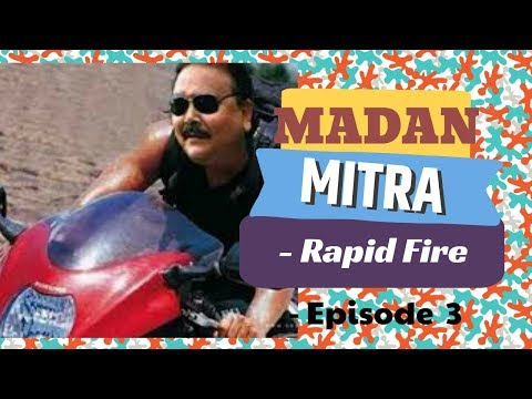 Madan Mitra - Rapid Fire | Ep 3 | Abhik Misra Vineyard
