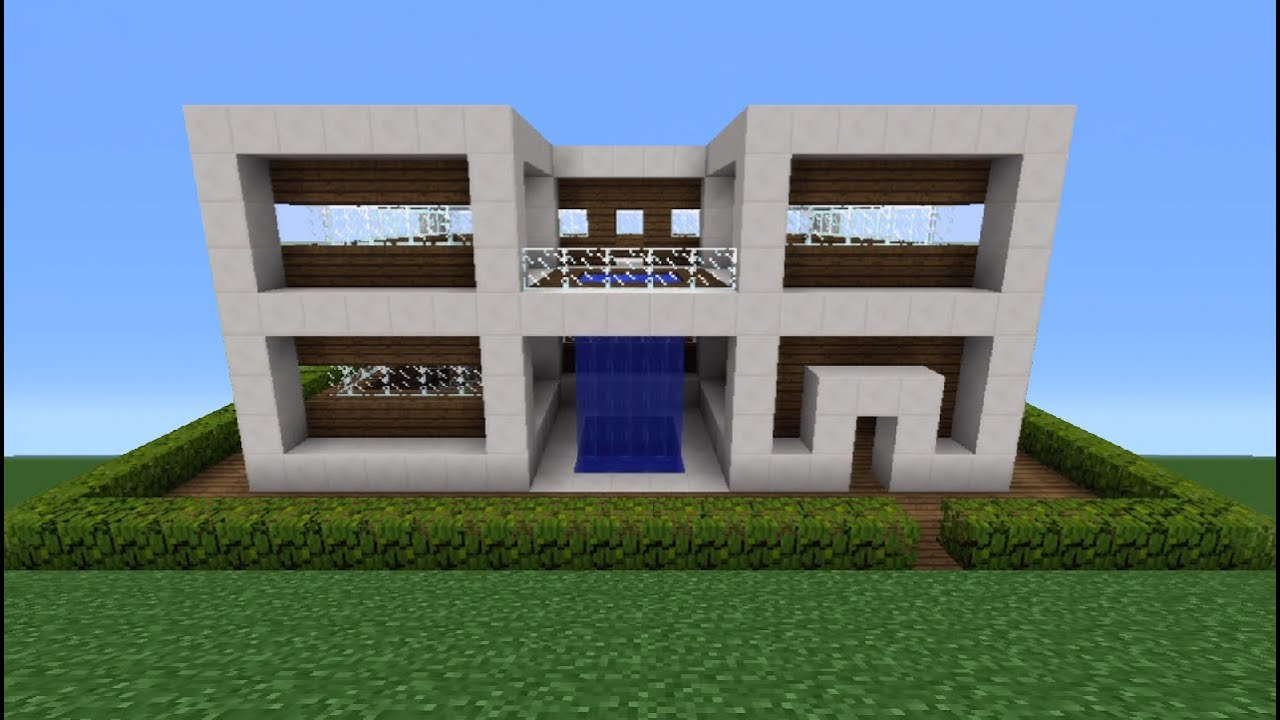 Minecraft Tutorial How To Make A Quartz House 9 YouTube