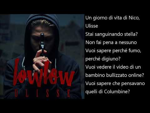 lowlow - Ulisse (Lyrics)