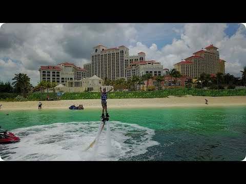 Flyboarding in the Bahamas!