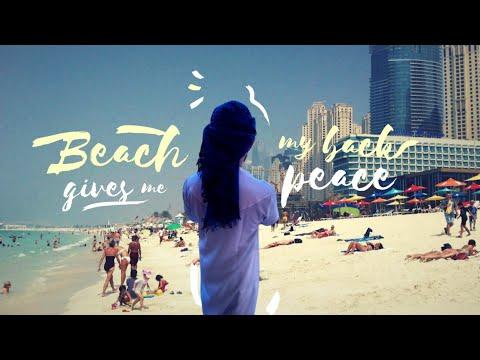 JBR Marina Beach ⛱ Dubai    Marina Beach Vlog 2021    Qadeer Khan Vlogs