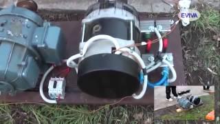 Мотор-генератор (РОТОВЁРТЕР) сделано в Киеве Май 2014