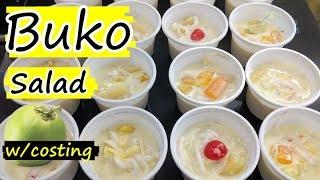 How to make buko salad for food business - buko salad recipe