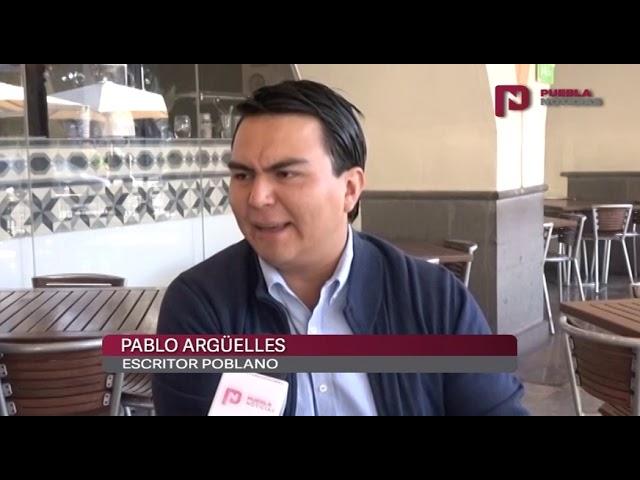 #SET #PueblaNoticias Escritor Pablo Argüelles comparte parte de su obra
