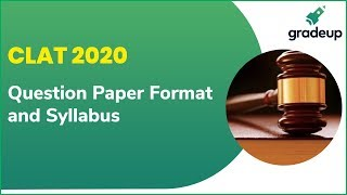 CLAT 2020 Notification Out   Check Question Paper Format   CLAT 2020 Syllabus & Exam Pattern