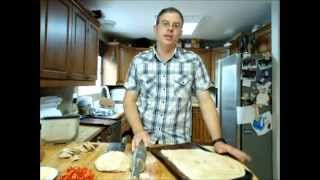 Simple whole wheat pizza dough