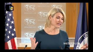 Heather Nauert Argues With Reporter Who Suggests Syria Cares More About the Environment Than USA!