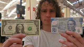Dinero MÉXICO vs USA | ¿qué podemos comprar?