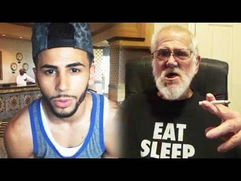 Adam Saleh Hides from Shooting, YouTuber FACE REVEAL! Angry Grandpa Blackmailed, YouTuber ROBBED