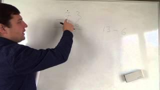 Математика 3 класс. 2 сентября. Вычитание в столбик