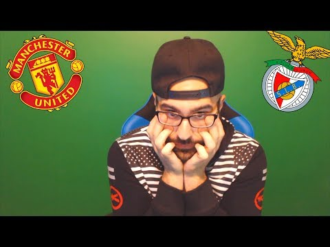 MY REACTIONS TO MANCHESTER UNITED VS BENFICA - Champions league