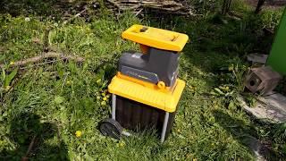Садовый измельчитель Stiga BioSilent 2500 Избавляемся от остатков сада с умом
