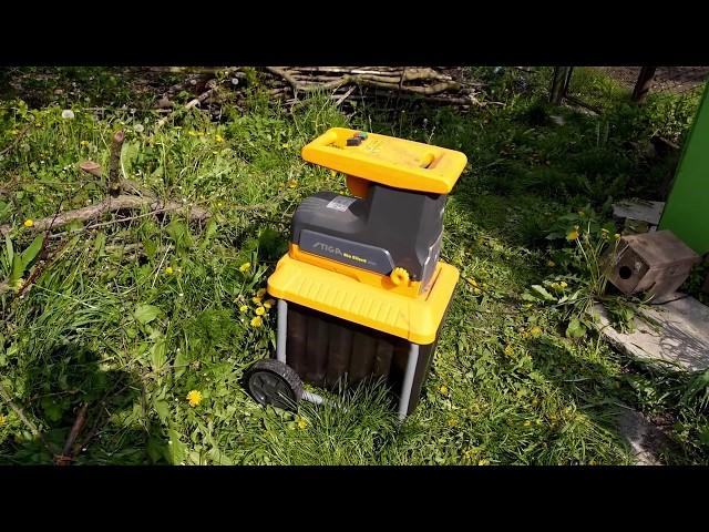 Садовый измельчитель Stiga BioSilent 2500. Избавляемся от остатков сада с умом