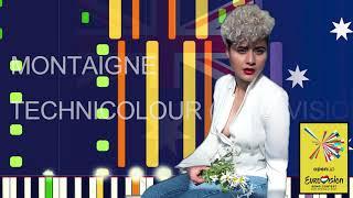 """Montaigne - TECHNICOLOUR (EUROVISION 2021 AUSTRALIA) (PRO MIDI FILE REMAKE) - """"in the style of"""""""