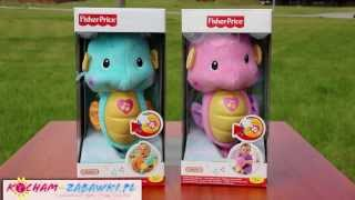 Seahorse Pink & Blue / Konik Morski Różowy i Niebieski - Świecąca Przytulanka - Fisher Price