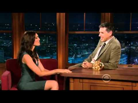 Daniela Ruah @ The Late Late  with Craig Ferguson