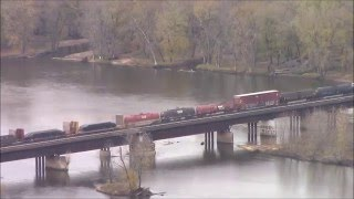 Along the Mississippi- Railfanning Railroads of The Midwest Episode 23