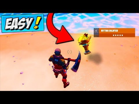 QUICKEST Way To Find MYTHIC GOLDFISH & Win Fishing Frenzy (EASIEST WAY) Fortnite Get Gold Fish FOUND