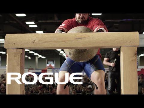Rogue Record Breaker - Brian Shaw&39;s 560lb Manhood Stone  4K