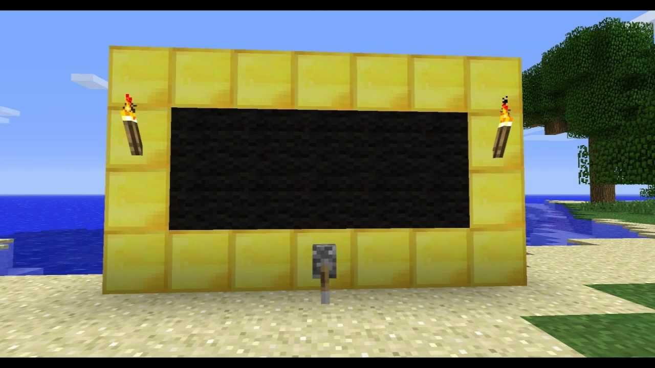 minecraft how to make a working tv in 181 without