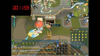 RuneScape - Herblore - 1 hour of Extreme defence