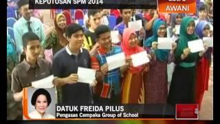 Keputusan SPM 2014 - Reaksi Pengasas Cempaka Group Of School