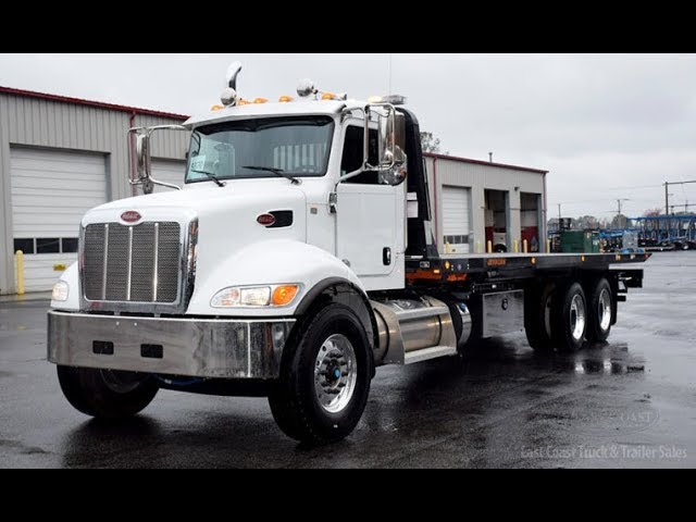 **SOLD**2018 Peterbilt 348 Jerr-Dan 15 ton 28x96 Transporter