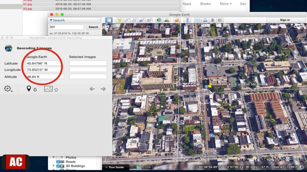 Geotag images mac