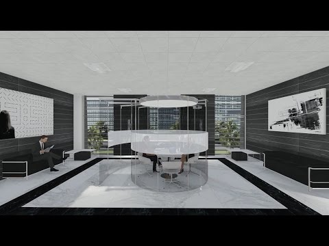 Lumion 6.0 - Rendering 3D  Animation 3D - Sketchup - Archicad - Project office Building -