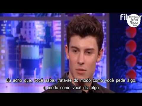 [LEGENDADO] Shawn Mendes fala sobre Justin Bieber...