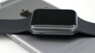 Apple Watch Sport: Unboxing & Comparison! (38mm vs 42mm)